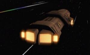 Dreadnought at warp