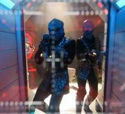 Klingons attaquant Doctari Alpha
