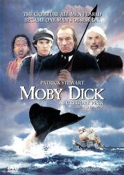 Patrick Stewart Moby Dick 1998 DVD