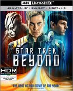 Star Trek Beyond 4K UHD US cover
