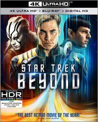 Star Trek Beyond 4K UHD US cover