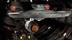 USS Defiant in Tholian drydock, 2155