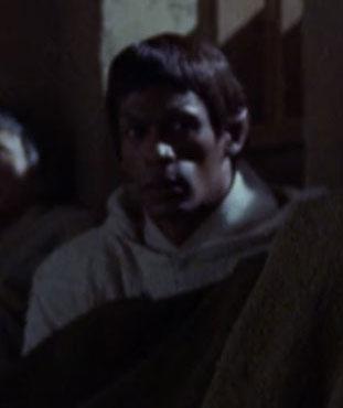 ... as a Vulcan monk