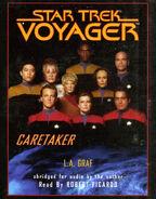 Caretaker audiobook, digital cover