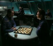 Malcolm and Travis play chess