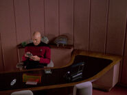 Picard's desk
