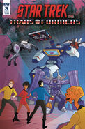 Star Trek vs. Transformers issue 3 cover A