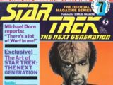 The Official Star Trek: The Next Generation Magazine issue 7