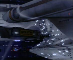 Zadokovaná Enterprise
