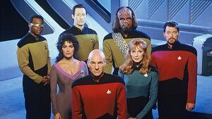 Зоряний шлях - Наступне покоління, головні персонажі