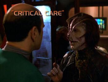Critical Care title card