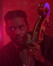 Bourbon Street Bar bass player