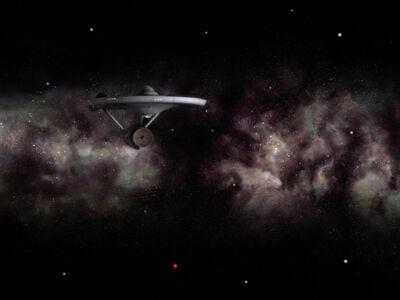 Enterprise NCC-1701 verlässt die Milchstraße (Remastered)