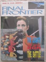 Final Frontier issue 18 cover