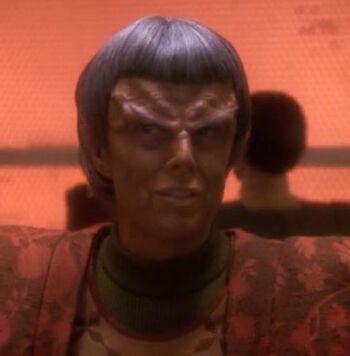 ...as the Romulan soup woman