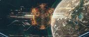 Sistema defensa planetario romulano Vashti PIC Absolute Candor