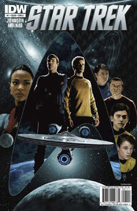 Star Trek Ongoing issue 1 cover A