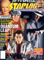 Starlog issue 153 cover