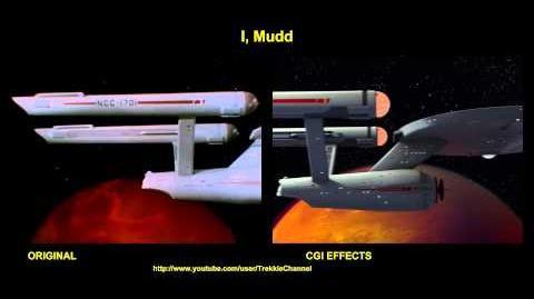 "TOS ""I Mudd"" - ""Mudd"" - comparaison des effets spéciaux"