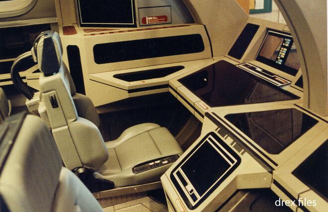 Cockpit des Runabout Sets - Vorderer Sitz an Backbord 2