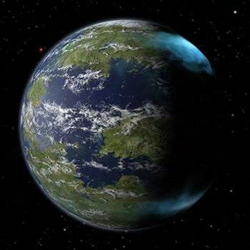 Omicron Ceti III from orbit