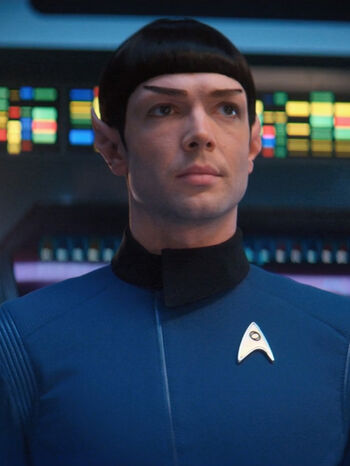 """<a href=""""/wiki/Ensign"""" title=""""Ensign"""">Ensign</a> Spock (<a href=""""/wiki/2254"""" title=""""2254"""">2254</a>)"""