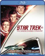 Star Trek VI The Undiscovered Country Blu-ray cover Region A
