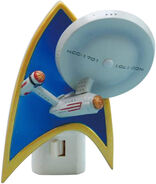 Westland Giftware USS Enterprise Resin Nightlight