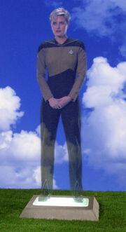 Yar's funeral hologram