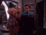 Quark and Bashir in trouble