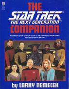 Star Trek The Next Generation Companion, 1st edition
