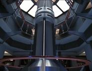 USS Voyager warp core offline