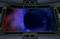 Voyager at event horizon