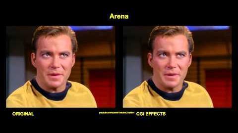 'Arena' - comparaison des effets spéciaux