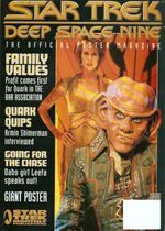 DS9 Poster Magazine issue 14 cover