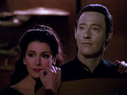 Deanna and Data