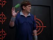 Der Ball fliegt genau in O'Briens Hand