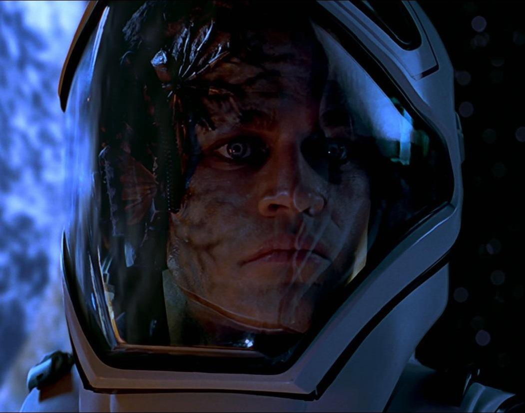 ボーグに同化されたホーク(2063年)