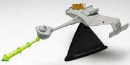 JL S5 Battle Damaged Klingon D7 Battle Cruiser