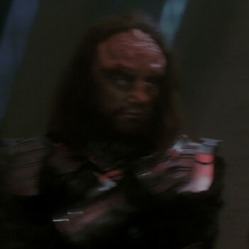 ...as a Klingon High Council member