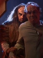 Klingonischer Wächter 1 Qu'Vat-Kolonie