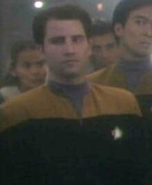 Simon Stotler - Voyager operations ensign 2371