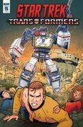 Star Trek vs. Transformers issue 5 cover RI