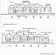 USS Enterprise Phase II bridge stations layout