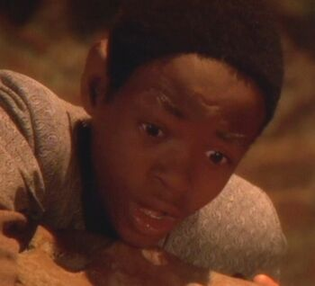 ...as young Tuvok