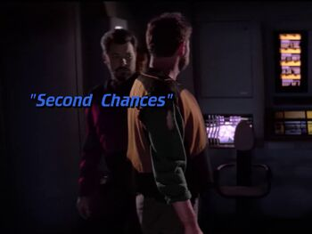 Second Chances title card
