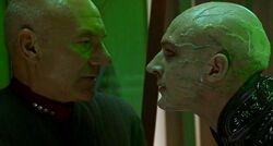 Picard and Shinzon