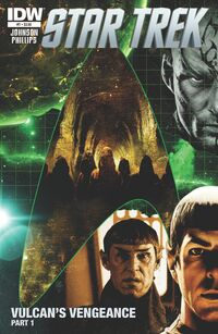 Star Trek Ongoing issue 7 cover A