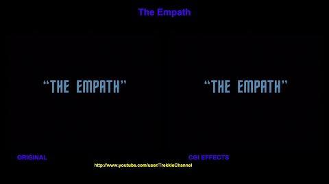 """TOS """"The Empath"""" - """"L'impasse"""" - comparaison des effets spéciaux"""