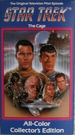 TOS The Cage All Color Collector's Edition US VHS Beta cover